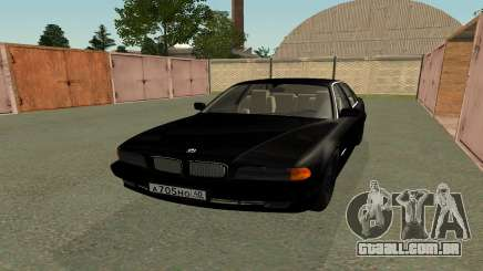 BMW 730i E38 do filme Boomer para GTA San Andreas