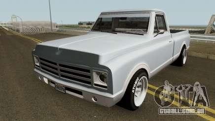 Chevrolet C-10 Custom Pickup Normal 1967 para GTA San Andreas