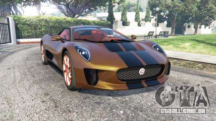 Jaguar C-X75 2015 [add-on] para GTA 5
