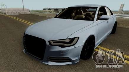 Audi A6 2012 HQ para GTA San Andreas