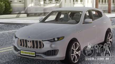 Maserati Levante White para GTA San Andreas