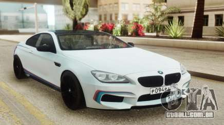 BMW M6 Coupe White para GTA San Andreas