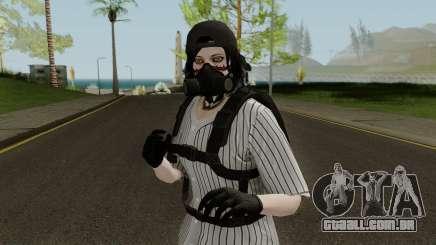 Skin GTA V Online (Normalmap) 1 para GTA San Andreas