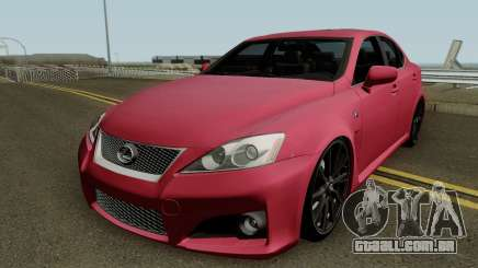 Lexus IS-F 2011 para GTA San Andreas