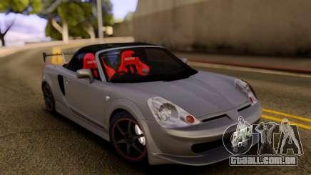 Toyota MR-S Carbon Spoiler para GTA San Andreas