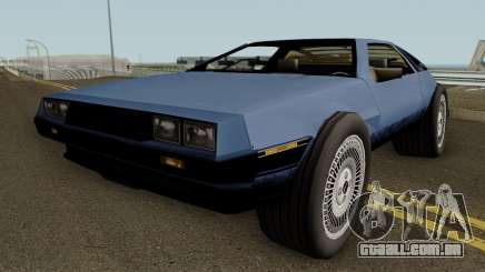 GTA SA Deluxo (Modified Delorean DMC 12) para GTA San Andreas