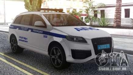 Audi Q7 Police para GTA San Andreas