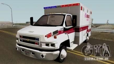 SAUR Ambulance para GTA San Andreas