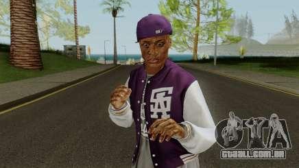 Ballas Member 1 GTA V para GTA San Andreas