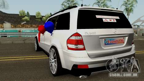 Mercedes-Benz GL (Wedding Car) para GTA San Andreas