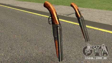 New Sawed-Off Shotgun HQ para GTA San Andreas