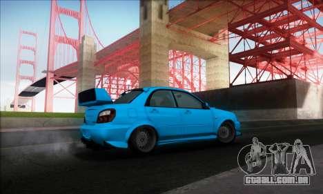 Subaru Impreza WRX STI 2003 LPcars para GTA San Andreas