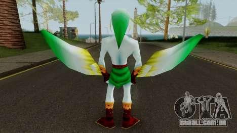 Link Zora - Legend of Zelda Ocarina of Time para GTA San Andreas
