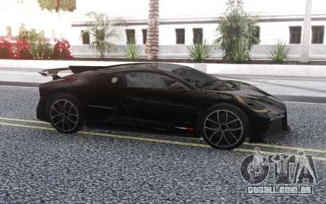 Bugatti Divo 2019 para GTA San Andreas