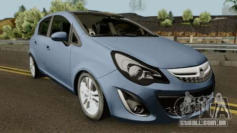 Opel (Vauxhall) Corsa D Phase 2 V1 para GTA San Andreas vista interior