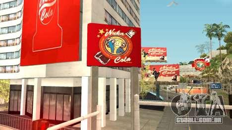 Nuka Cola Billboards para GTA San Andreas