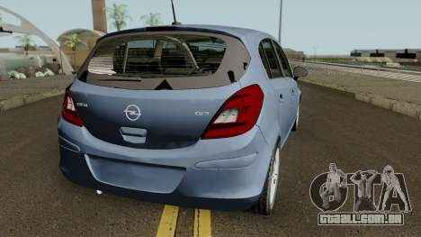 Opel (Vauxhall) Corsa D Phase 2 V1 para GTA San Andreas vista direita