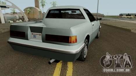 Manana Pickup para GTA San Andreas