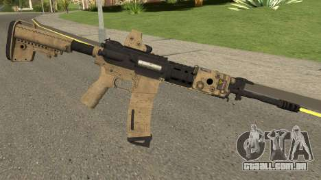 Battle Carnival M4A1 para GTA San Andreas