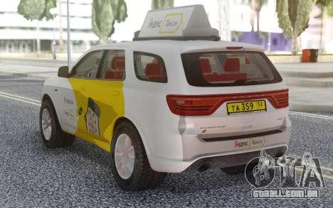 Dodge Durango SRT Yandex Taxi para GTA San Andreas