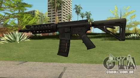 New Assault Rifle HQ para GTA San Andreas