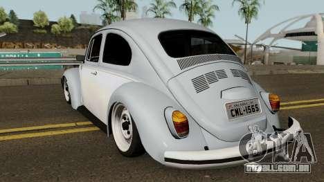 Volkswagen Beetle 1972 para GTA San Andreas