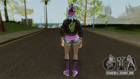 Fortnite Female Garage Band para GTA San Andreas