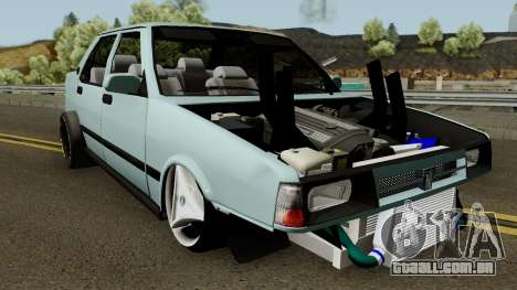 Drag Tofas para GTA San Andreas vista interior