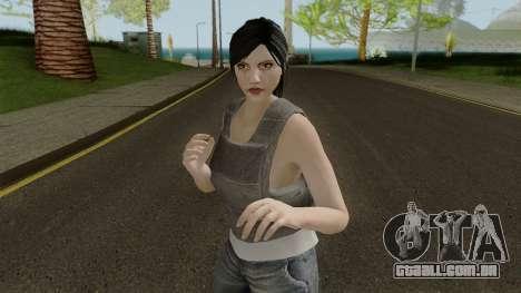 Female Skin from GTA Online 2 para GTA San Andreas