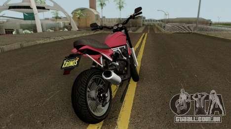 Pegassi Esskey GTA V para GTA San Andreas