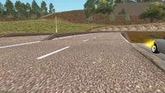 HD Estrada GTA Penal Rússia para GTA San Andreas