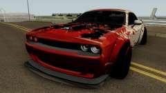 Dodge Hellcat Blood para GTA San Andreas
