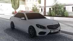 Mercedes-Benz E200 White para GTA San Andreas