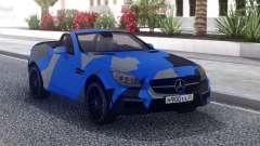 Mercedes-Benz SLK 55 AMG Cabriolet para GTA San Andreas