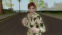 GTAO Xmas Female Skin para GTA San Andreas