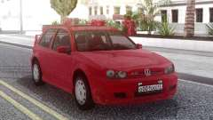 Volkswagen Golf IV Red para GTA San Andreas