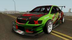 Mitsubishi Lancer Evolution IX OZ Drift V2 2006 para GTA San Andreas