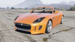 Jaguar F-Type R convertible 2015 para GTA 5