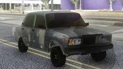 VAZ 2107 Hobo Cinza para GTA San Andreas