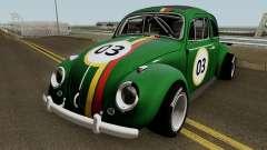 Volkswagen Beetle Ragtop Sedan 1963 para GTA San Andreas
