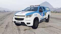 Chevrolet S10 Double Cab 2012 Policia para GTA 5