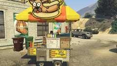 Sell Hotdogs [.NET] 1.0 para GTA 5