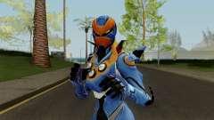 Fortnite Female Carbide Blue para GTA San Andreas