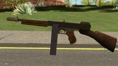 Gusenberg Sweeper M1928 GTA V para GTA San Andreas