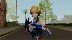 MFF Sharon Rogers (Starlight Armor) para GTA San Andreas