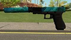 Hurricane Glock 17 para GTA San Andreas