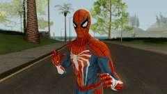 Spider-Man PS4 Standart Skin para GTA San Andreas