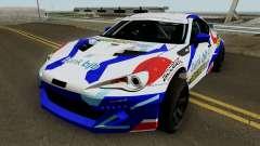 Subaru BR2Z HGMP Racing Team para GTA San Andreas
