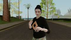 Skins DLC Import Export Female para GTA San Andreas
