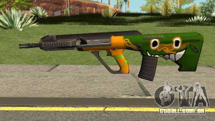 AUG A3 PUBG Edition: Rainforest para GTA San Andreas